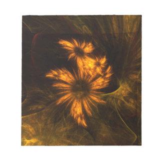 Libreta del arte abstracto del jardín de la místic bloc de notas