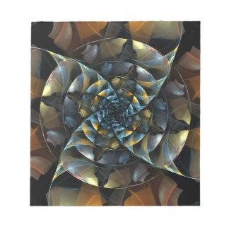 Libreta del arte abstracto del molinillo de viento blocs