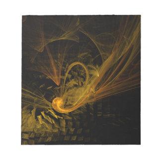 Libreta del arte abstracto del punto de desempate libreta para notas