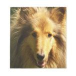 Libreta del collie del Lassie Blocs De Papel