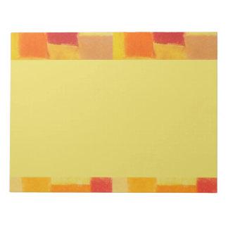 Libreta del confeti del verano de 4 estaciones blocs de papel