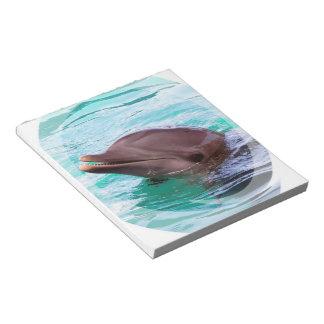 Libreta del diseño del delfín libretas para notas