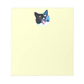 Libreta del gato libreta para notas