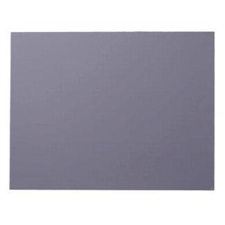 Libreta del gris azul del delfín blocs
