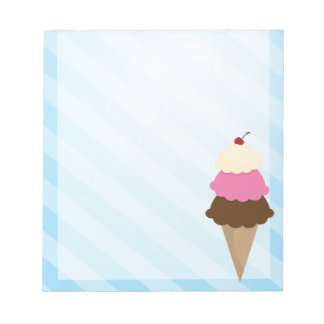 Libreta del helado libretas para notas
