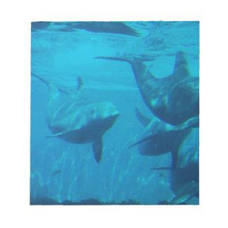 Libreta del juego del delfín libreta para notas