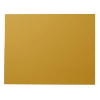 Libreta del oro del pirata bloc de papel