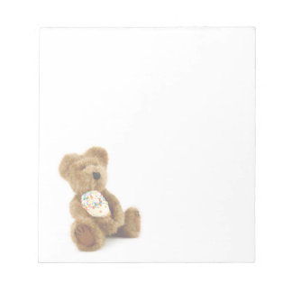 Libreta del oso del helado libreta para notas