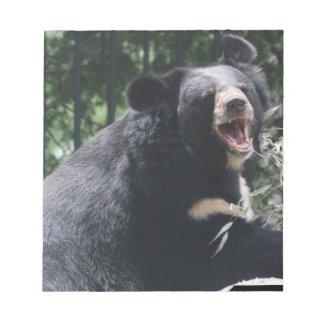 Libreta del oso el gruñir blocs de notas