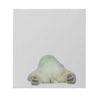 Libreta del oso polar blocs de notas