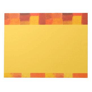 Libreta del otoño de 4 estaciones blocs de papel