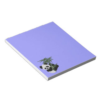 Libreta del pequeño panda bloc