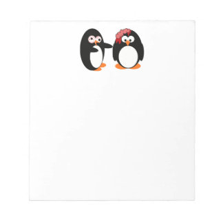Libreta del pingüino del zombi blocs de papel