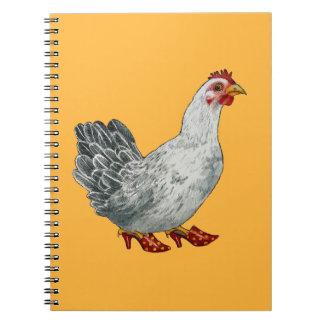 Libreta del pollo