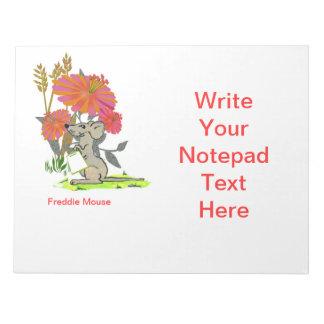 Libreta del ratón de Freddie Bloc De Notas