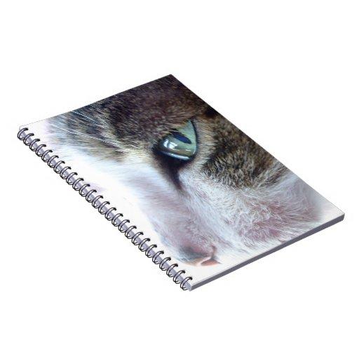 Libreta del retrato del gato