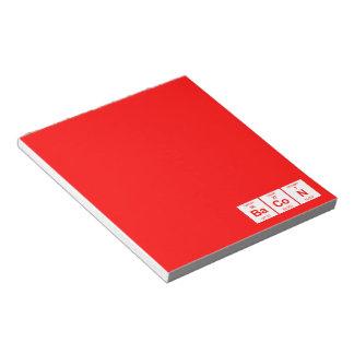 Libreta del tocino blocs de notas