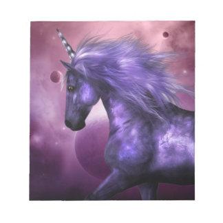 Libreta del unicornio blocs de papel
