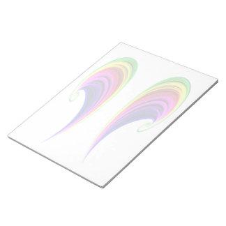 Libreta doble del arco iris blocs