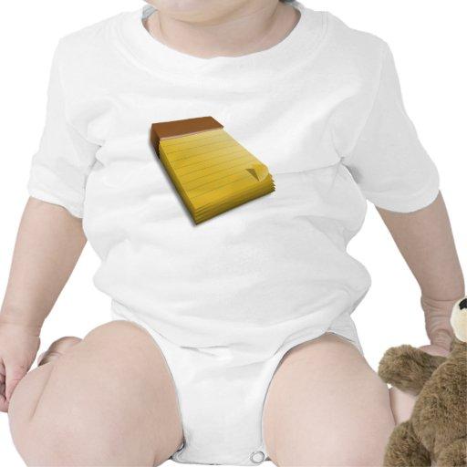 Libreta en blanco trajes de bebé