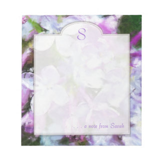 Libreta floral del personalizado del arte de la li blocs de notas