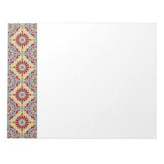 Libreta geométrica islámica del modelo libretas para notas