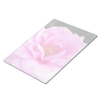 Libreta grande alineada o sin forro del rosa rosad bloc de notas