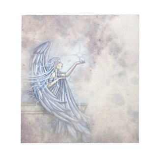 Libreta hermosa del ángel bloc de notas