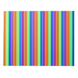 Libreta incandescente del arco iris blocs de papel