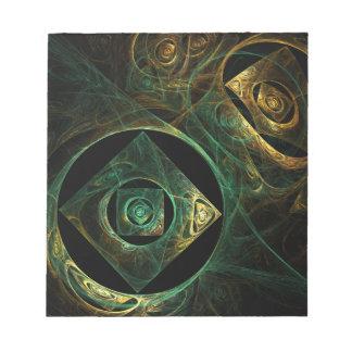 Libreta mágica del arte abstracto de las vibracion libretas para notas