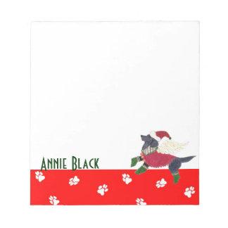 Libreta negra de Labrador de los ángeles de Gulliv Bloc De Notas