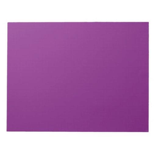 Libreta oscura de la púrpura de la orquídea blocs de papel