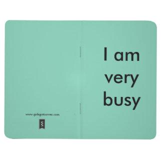 Libreta para la gente extremadamente ocupada cuaderno