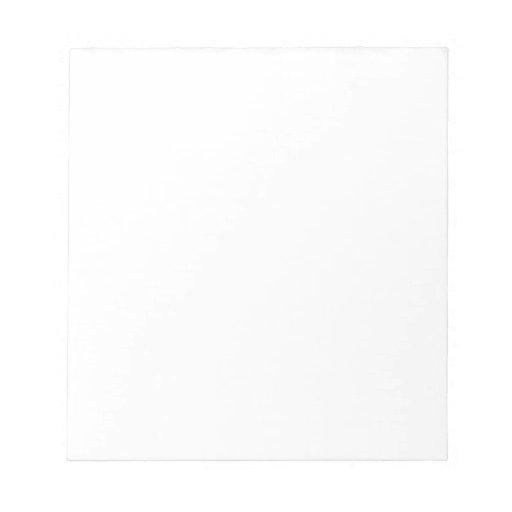 Bloc de notas (40 págs., 14 x 15,2 cm)