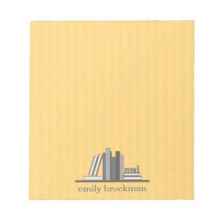 Libreta personalizada biblioteca blocs de notas