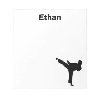 Libreta personalizada karate libreta para notas