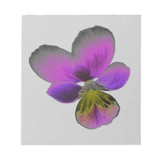 Libreta púrpura oscura salvaje del pensamiento bloc de notas