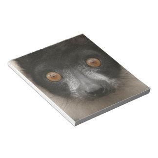 Libreta rizada del Lemur Bloc De Papel