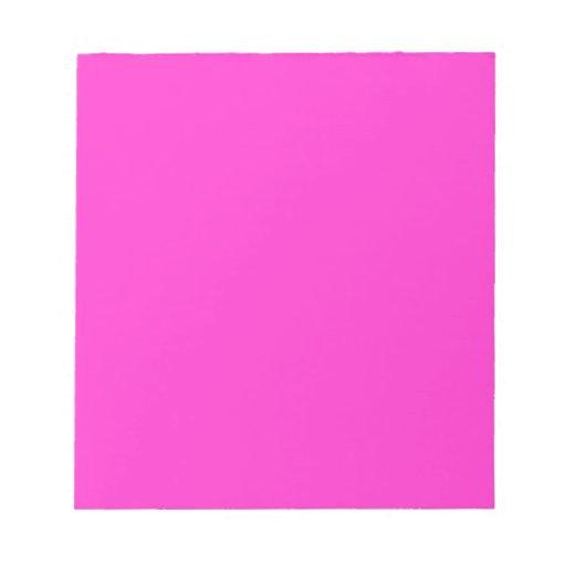 Libreta rosada brillante de EZ-C Bloc De Papel
