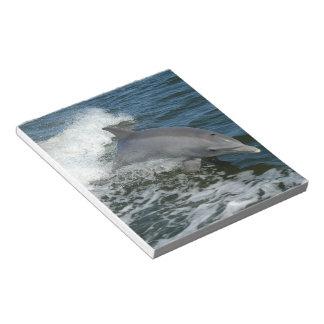 Libreta salvaje del delfín bloc de papel