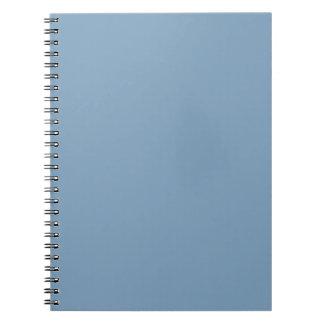 Libreta sólida del azul de la oscuridad