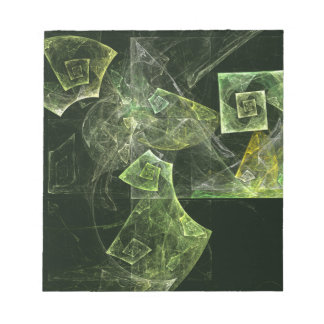 Libreta torcida del arte abstracto de la balanza blocs de papel