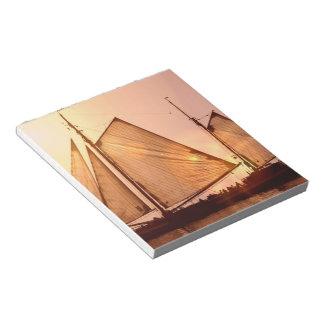 Libreta vieja de los veleros bloc de notas
