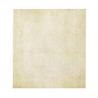 Libreta vieja del fondo del papel del vintage bloc de papel
