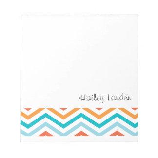 Libretas personalizadas el | azules y anaranjadas  bloc de notas