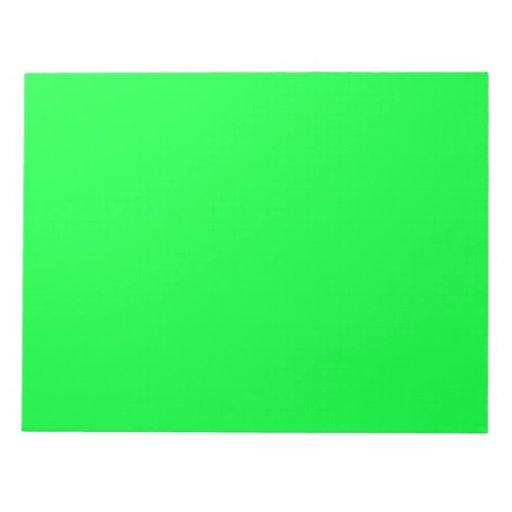 Libretas verdes claras de EZ-C Libretas Para Notas