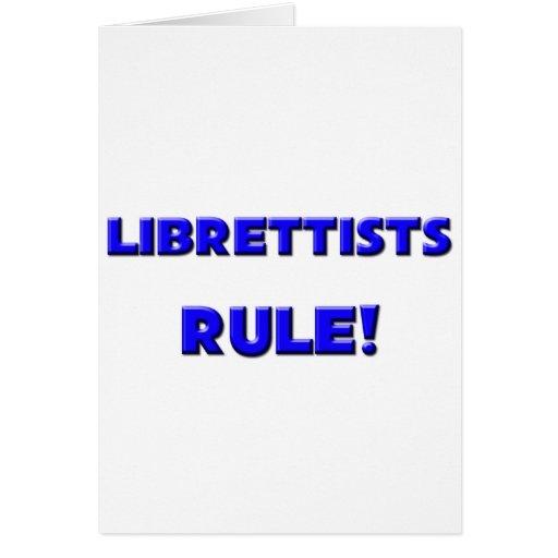 Librettists Rule! Greeting Card