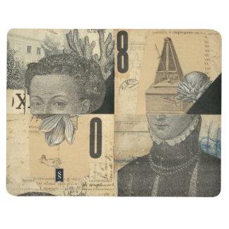 Libro #1 del collage cuaderno grapado