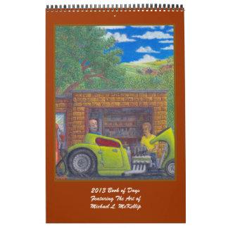 Libro 2013 del calendario de los días