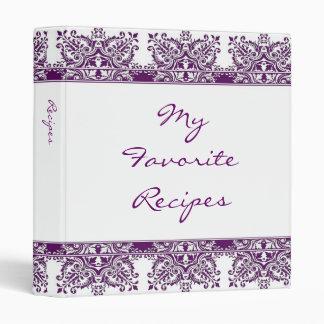 Libro Amethyst de la receta del damasco